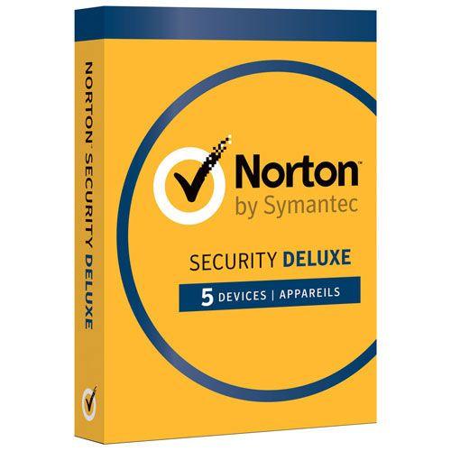 Norton Security 5 Gebruikers 1 Jaar