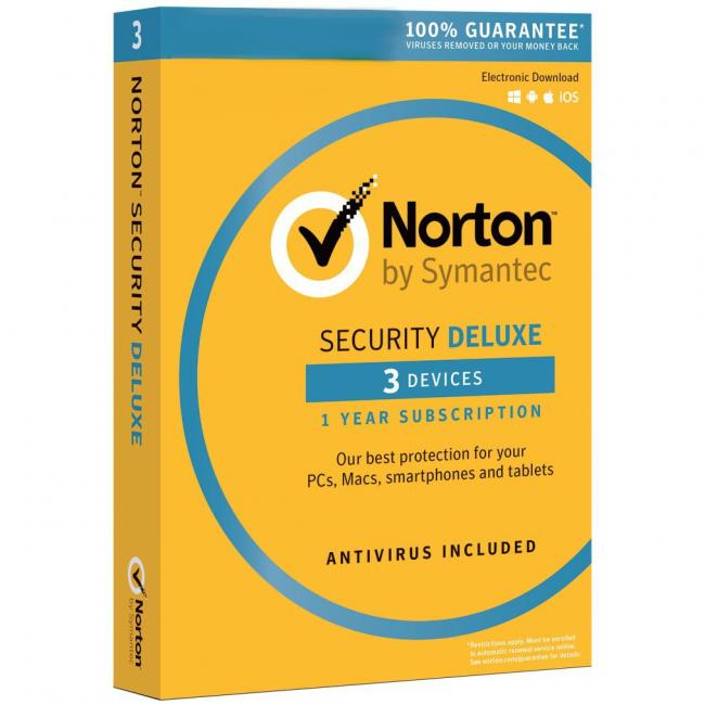 Norton Security 3 Gebruikers 1 Jaar