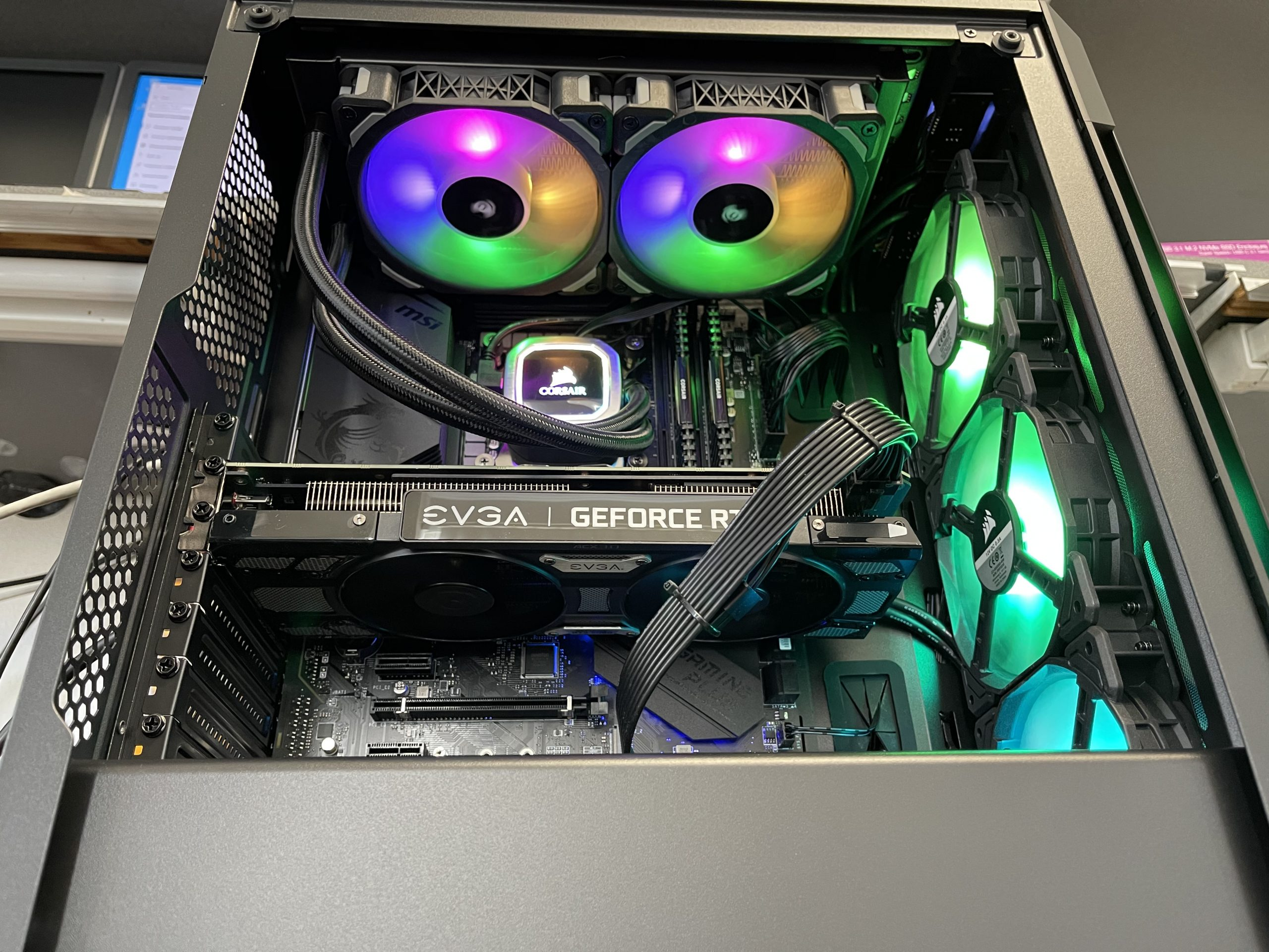 GamePC I7 10th GEN/32GB(RAM)/EVGA RTX 2060 GAMING Z 6G